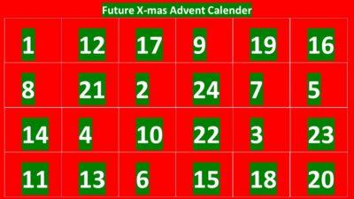 X-mas Advent Calendar 2020